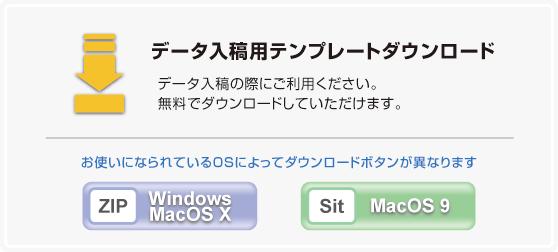 Windows用OSX用 プラスチックカード(PVCカード・PETカード)印刷用,診察券印刷用,テンプレートダウンロード
